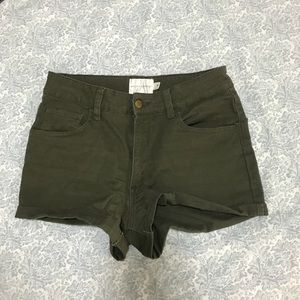Pants - Melissa and Marley khaki shorts